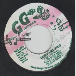 Dennis Brown - Dont You Cry - GG 7""