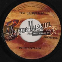 """Detroit Emeralds - Feel The Need In Me - Federal 7"""""""