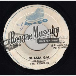 "Dingles - Glama Gal - Rosso 7"""