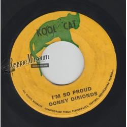 "Donny Dimonds - Im So Proud - Kool Cat 7"""