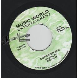 """Baby Cham - Ghetto Story Sleng Teng Remix - Music World 7"""""""