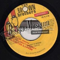"Baby Wayne - Money Fi Spend - Brown Records 7"""