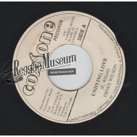 """Ernest Wilson - Undying Love - Coxsone 7"""""""