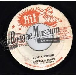 "Barbara Jones - Just A Friend - GGs Hit 7"""