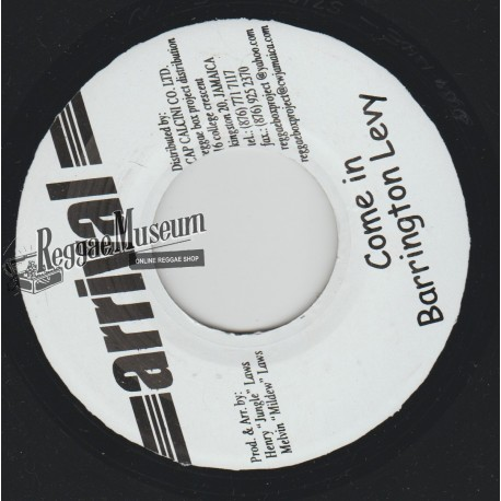 """Barrington Levy - Come In - Arrival 7"""""""