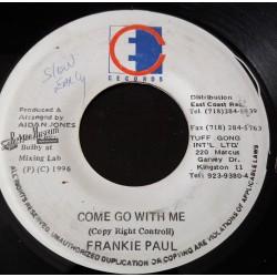 """Frankie Paul - Come Go With Me - East Coast 7"""""""