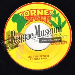 Frankie Paul - On The Bench - Corner Stone 7""