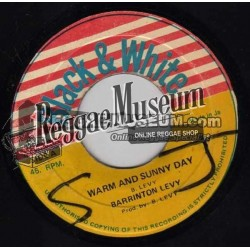 Barrington Levy - Warm and Sunny Day - Black & White 7""
