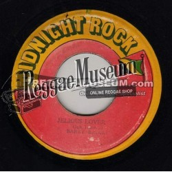 "Barry Brown - Jealous Lover - Midnight Rock 7"""