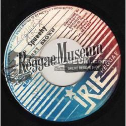 "Barry Brown - Too Squeechy - Irie Reggae 7"""