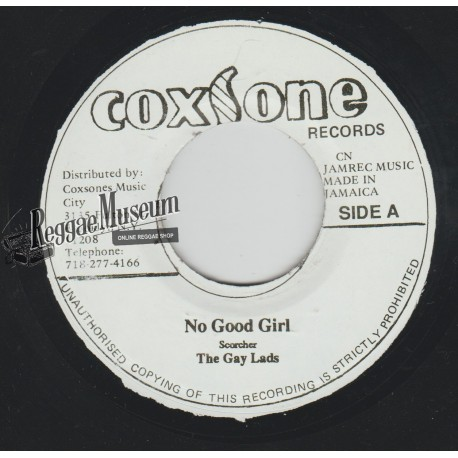 Gaylads - No Good Girl - Coxsone 7""