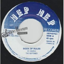 """Heptones - Book Of Rules - Hep Hep 7"""""""
