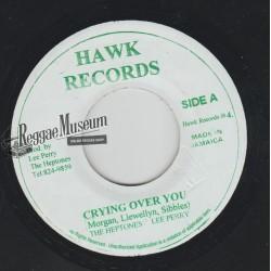 """Heptones - Crying Over You - Hawk 7"""""""