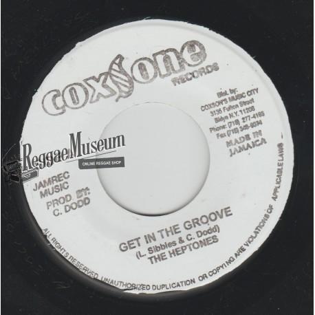 """Heptones - Get In The Groove - Coxsone 7"""""""