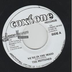 "Heptones - Were In The Mood - Coxsone 7"""
