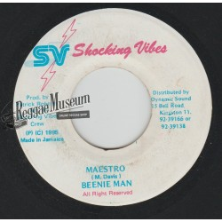 """Beenie Man - Maestro - Shocking Vibes 7"""""""