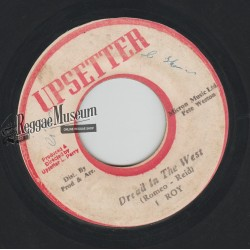 """I Roy - Dread In The West - Upsetter 7"""""""