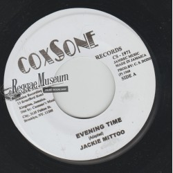 "Jackie Mittoo - Evening Time - Coxsone 7"""