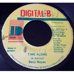 "Benji Mayaz - Time Alone - Digital B 7"""