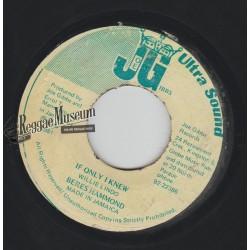 """Beres Hammond - If Only I Knew - Joe Gibbs 7"""""""
