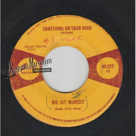 """Big Jay McNeely - Something On Your Mind - Sue 7"""""""