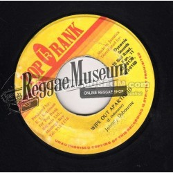 "Johnny Osbourne - Wipe Out Apartheid - Top Rank 7"""