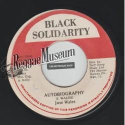"Josey Wales - Autobiography - Black Solidarity 7"""