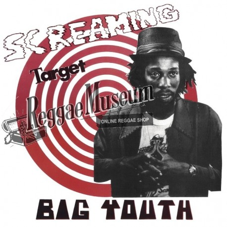 Big Youth - Screaming Target - Sunspot LP