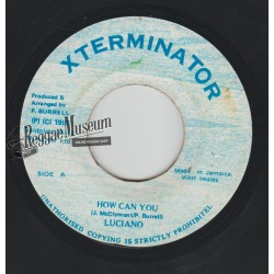 Luciano - How Can You - Xterminator 7""