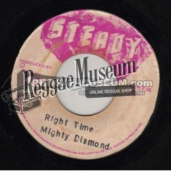"""Mighty Diamonds - Right Time - Steady 7"""""""