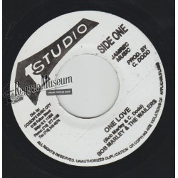 "Bob Marley & Wailers - One Love - Studio 1 7"""