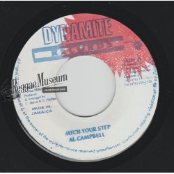 """Al Campbell - Watch Your Step - Dynamite 7"""""""