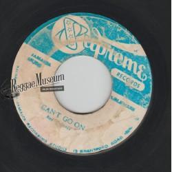 "Roy Richards - Cant Go On - Supreme 7"""