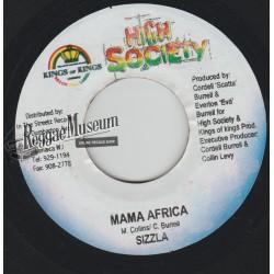 "Sizzla - Mama Africa - High Society 7"""