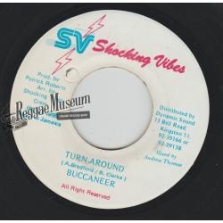 "Buccaneer - Turn Around - Shocking Vibes 7"""