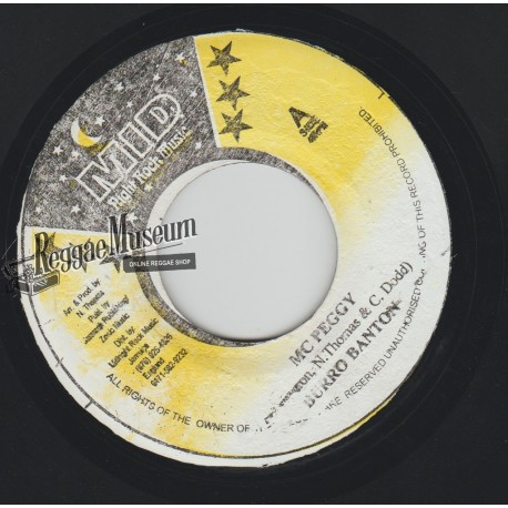 "Burro Banton - Mc Peggy - Midnight Rock 7"""