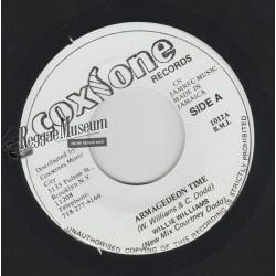 "Willie Williams - Armagedeon Time - Coxsone 7"""