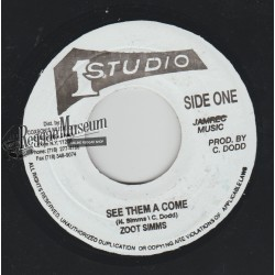 """Zoot Simms - See Them A Come - Studio 1 7"""""""