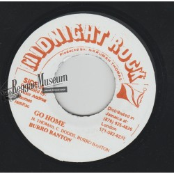 "Burro Banton - Go Home - Midnight Rock 7"""