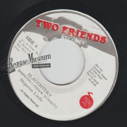 """Hopeton Lindo - Slaughtery - Two Friends 7"""""""