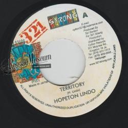 "Hopeton Lindo - Territory - 321 Strong 7"""