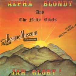 Alpha Blondy - Jah Glory - Syllart LP