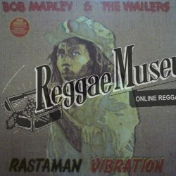 "Bob Marley & Wailers - Rastaman Vibration - Tuff Gong LP"""