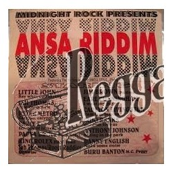Various Artists - Ansa Riddim - Midnight Rock LP