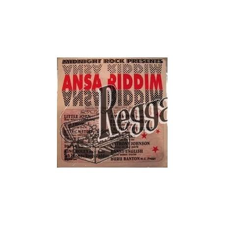 Various Artists - Ansa Riddim - Midnight Rock LP