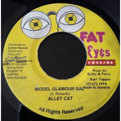 Alley Cat - Model Glamour Gal - Fat Eyes 7""