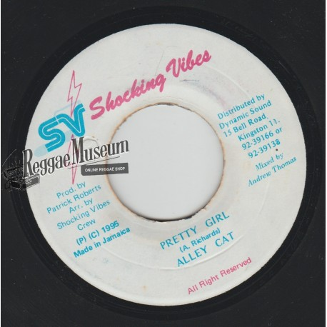"""Alley Cat - Pretty Girl - Shocking Vibes 7"""""""