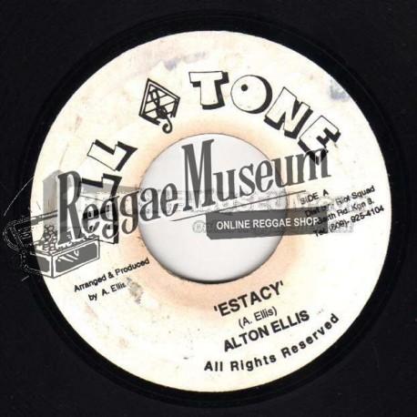 """Alton Ellis - Ectasy - All Tone 7"""""""