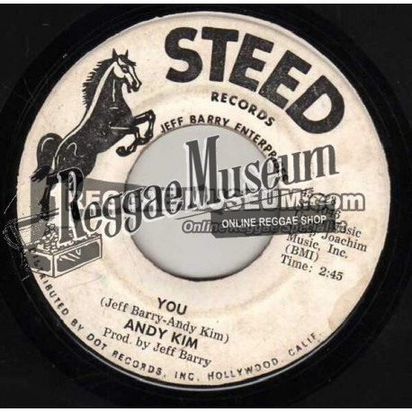 Andy Kim - You - Steed 7""