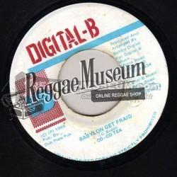 "Cocoa Tea - Babylon Get Fraid - Digital B 7"""